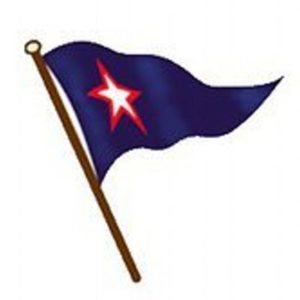 Burgee for Sausalito Yacht Club