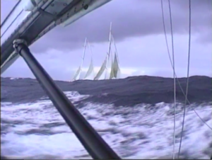 Whitbread Race movie still from the documentary film